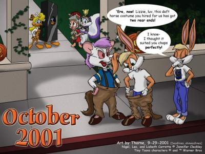 [October - Costumey Loonies - by Thorne]